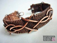 Wire wrap, Vikinq Knit украшения из проволоки.   VK