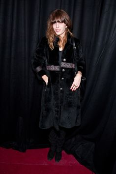 PARIS - JANUARY Actress Lou Doillon attends the Adam Kimmel Presentation during Paris Men's Fashion Week Fall/ Winter 2010 at Galerie Yvon Lambert on January 2010 in Paris, France. (Photo by Victor Boyko/WireImage) Lou Doillon, Vogue Paris, Mens Fashion Week, Men's Fashion, I Love Paris, Street Style, Presentation, Fall Winter, Actresses