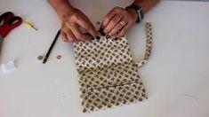 Carteirinha Rápida , Fácil com Apenas duas Costuras por Arte de Paninho | Cantinho do Video