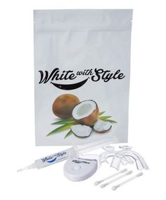 This Coconut Professional Teeth Whitening Kit is perfect! #zulilyfinds