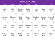 "February 2015 ""Love & Compassion"" prayer calendar. Email calendar@iprayallday.com for a free downloadable version & monthly devotional"