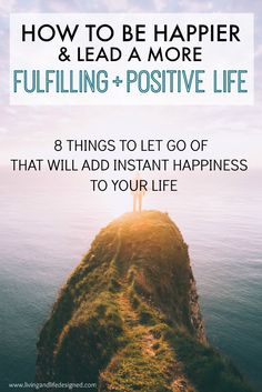 Living a happy and fulfilled life should be everyone's goal - a great list of things to learn to let go in order to me more happy, more positive and life a fulfilling life. Mindful Living, Wellness, Healthy Mind, Blogging, Positive Life, Positive Living, Positive Mindset, Self Development, Personal Development