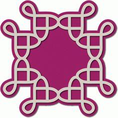 Silhouette Design Store - View Design #72124: pretzel motif