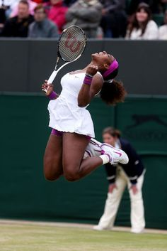 Serena Williams- In honor of her 5th Wimbledon title <3