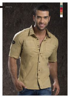 Camisa-para-hombre-color-beige-manga-tres-cuartos -beige-shirt-for-men- three-quarter-sleeves-2 Sexy, yet Casual Mens Fashion #sexy #men #mens #fashion #neutral #casual #male #males #guy #guys #hot #hotlooks #great #style #styles #hair #clothing #coolmensoutfits www.ushuaiajeans.com.co Men Fashion Photo, Mens Fashion, Casual Shirts For Men, Men Casual, Casual Wear, Cargo Shirts, Men Shirts, Beige Shirt, Plain Shirts