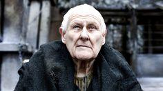 Aemon Targaryen played by Peter Vaughan.