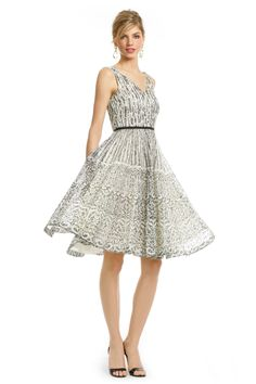 Moschino Time for Tea Dress $30 rent the runway