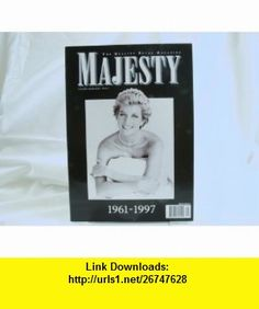 Majesty - Commemorative Issue 1961-1997 Ingrid Seward ,   ,  , ASIN: B000SQMUUO , tutorials , pdf , ebook , torrent , downloads , rapidshare , filesonic , hotfile , megaupload , fileserve