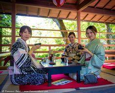 Afternoon tea at Kiyomizu-dera, Kyoto
