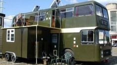 Bristol Couple's Double Decker Bus Conversion and 4 other cool conversions. Click the link for all the pictures!