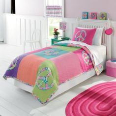 Girls Bedroom On Pinterest Bed Sets Twin And Peace