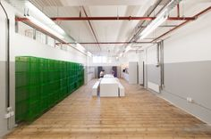 Contemporary office fit out in Central London by interior specialists C and S ltd
