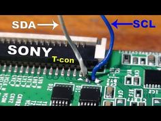 How to add another panel on Sony Bravia LCD TV. in 2019 Sony Lcd Tv, Sony Led, Panel Led, Tv Panel, Electronic Circuit Design, Computer Maintenance, Electrical Circuit Diagram, Lcd Television, Tv Led