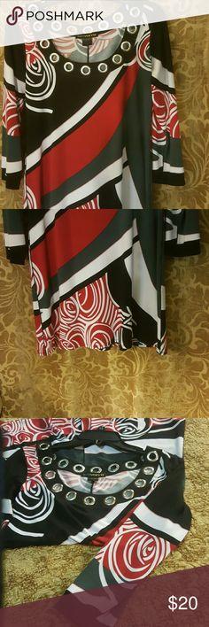 Evovorro dress Black, Red, and White Dress Evovorro  Dresses
