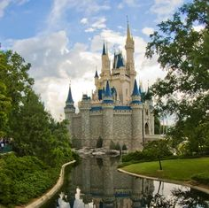 Another view of Cinderella's castle x