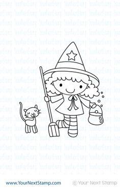 Cute Witch Ellie