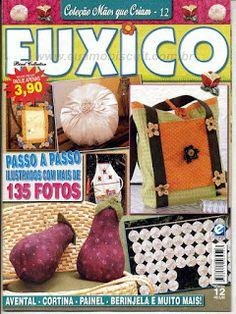 Artesanato com amor...by Lu Guimarães: Revistas de Fuxico