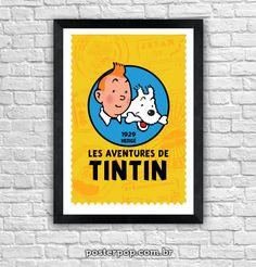 """Poster """"TinTin 1929"""""""