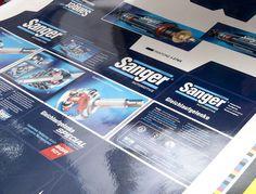 Sanger CVJ offset pre-press proof.