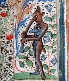 book of hours, France 15th century (Amiens, Bibliothèque municipale, ms. 107, fol. 20v)