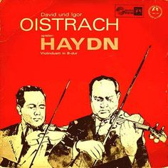 2 great violinists play Haydn