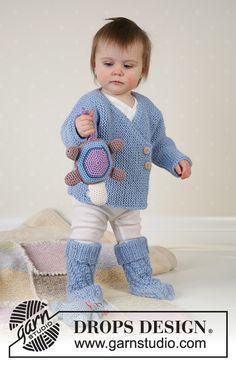 Jacket, socks, soft toys and blanket in Alpaca Knitting Patterns Free, Free Knitting, Baby Knitting, Free Pattern, Drops Design, Drops Alpaca, Drops Baby, Knit Crochet, Crochet Hats