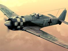 Bernhard KUNZE of 1./JG 1 in flight in his Fw 190 A-5 (W.Nr. 410055) in 1943 He was killed on 5 January 1944 while making a force landing at Bergisch-Gladbach in a Fw 190 A-6 (W.Nr. 550884) after being fatally wounded by the flak. He was credited of 9 confirmed victories in the Defence of the Reich