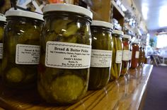 Bread & Butter Pickles from Annie's Kitches in Ronks, Pa sold in Smith Island MD. Bread & Butter Pickles, Bread N Butter, Ronks Pa, Island Cruises, Smith Island, Cucumber, Appetizers, Snacks, Sweet