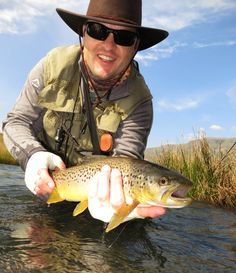 Brown Trout caught in a Drakensberg stream, Kwazulu-Natal, South Africa Trout Fishing, Fly Fishing, Brown Trout, Kwazulu Natal, Funny People, South Africa, Southern, Places To Visit, Old Things