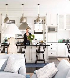 Hamptons Style Kitchen - House & Garden