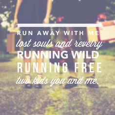 My song of the #summer X Ambassadors Renegade. Typography by me via #wordswag