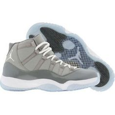 Air Jordan 11 XI Retro Cool Grey (medium grey white cool grey) Shoes Air fcc64946a1