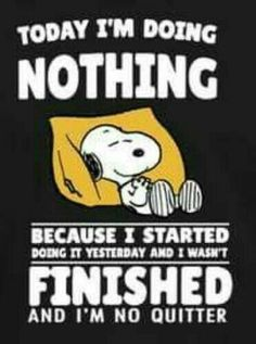 Nothing doin snoopy Cute Quotes, Funny Quotes, Funny Memes, Hilarious, Humor Quotes, Peanuts Quotes, Snoopy Quotes, Beau Message, Snoopy Love