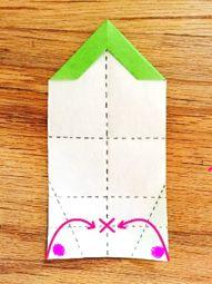 うっとりがみ 基本形2の折り方   透かし折り紙研究部★うっとりがみ Plastic Cutting Board