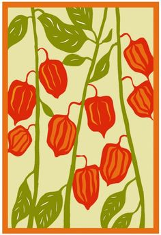 Chinese lanterns/inspiration for cut paper project