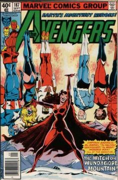 Avengers #187 art: John Byrne, Terry Austin/One of my all time favorite covers