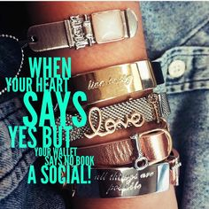 """Book a Social with me this month! Earn free and half priced items, just for hosting a qualified """"social""""!  Contact me or visit my website: www.keep-collective.com/with/Beckydonlan"""
