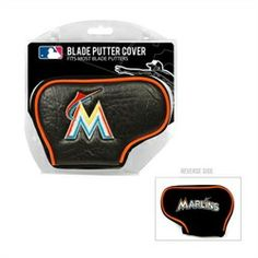 Miami Marlins Golf Putter Cover - Blade Putter Cover