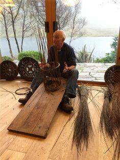 Joe Hogan, master basket maker. South of Ireland Knitting & Craft Tour: An In-Depth Review - The Wild Geese