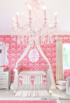 a luxurious nursery fit for a princess!