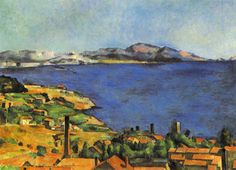 Paul Cezanne- Gulf of Marseilles, Seen from Estaque