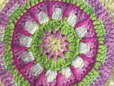 Kathy Ahlbrandt's Crochet Mandalas For Marinke