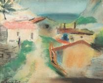 Houses in Balcic - Francisc Sirato