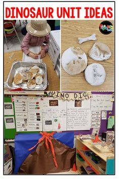 Dinosaur Unit Ideas for Kindergarten and First Grade