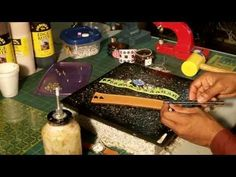 How to make a leather watchband or wristband - YouTube