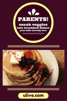VEGGIE SNEAKS: Sneak veggies into easy breakfast dishes your kids already love >> http://www.ulive.com/video/sneak-veggies-into-breakfast-dishes-your-kids-already-love #Back2school