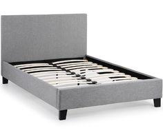David Phillips | Elementa 5ft king bed frame grey