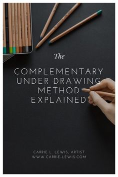 What's the big deal about the complementary under drawing method? Answers the basic questions, advantages and disadvantages, and links to additional articles. Colored Pencil Tutorial, Colored Pencil Techniques, Pastel Pencils, Coloured Pencils, Watercolor Pencils, Watercolor Trees, Watercolor Portraits, Watercolor Landscape, Watercolor Painting