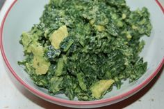 Kale and Avocado Salad from Engine 2 Diet (could add diced tomato)