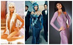 A sus 74 años CHER continúa siendo una súper estrella, autora de la reinvención Cyndi Lauper, Bob Mackie, Cara Delevigne, Hollywood Girls, Costumes, Dresses, Fashion, Bushy Eyebrows, Black Eyeliner